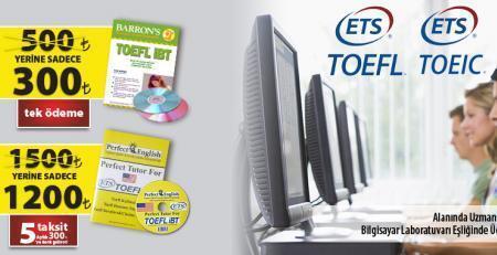 TOEFL-TOEIC İngilizce Kurs Kampanyaları